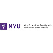 NYU Vice Provost for Faculty, Arts, Humanities and Diversity