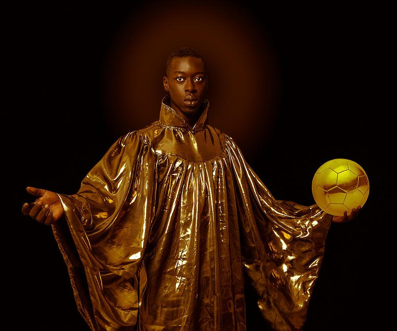 Photo of Saint Benedict by the artist Omar Victor Diop